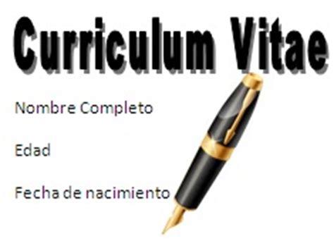 GIPE Cómo hacer un Curriculum Vitae